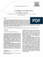 Study on Modeling of Wire EDM Process