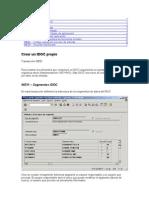 IDOCS-SAP- Creación de un IDOC propio
