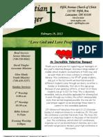 February 19 Newsletter