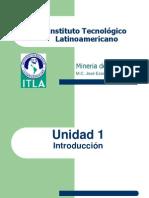 ITLA Mineria Apuntes Unidad 1