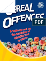 Cereal Offences