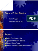Steam Boiler Basics