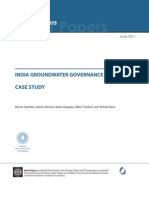 India Groundwater Governance CaseStudy WorldBank 2011