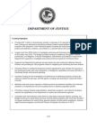 Justice Department Budget Proposal