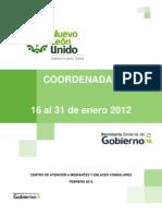 Migrantes | Coordenadas | 16 al 31 enero 2012