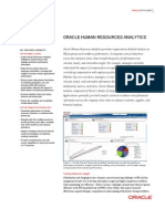 Oracle-Human Resources Analytics