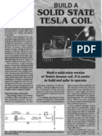 Build a Solid State Tesla Coil