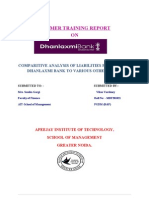 Summer Training Report College