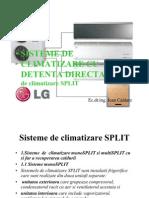 Sisteme de Climatizare Cu Detenta Directa Power Point Presentation