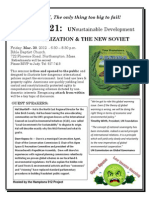 Agenda 21 Presentation in Northhampton, MA