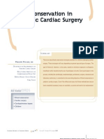 Blood Conservation in Pediatric Cardiac Surgery