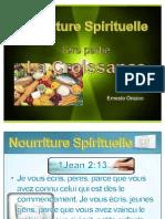 Nourriture Spirituelle 1