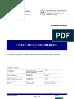 Heat Stress Procedure