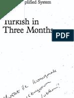 Turkish 3 Months