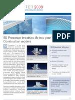 5dPresenter 2008 Brochure View