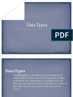 Data Types2