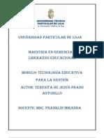 LAS NUEVAS TECNOLOGÍAS DE LA EDUCACIÓN 2do bimestre 2012TP