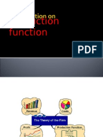 A Presentation On production function