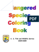 9698316 Endangered Species Coloring