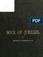 Book of Jubilees From the Ethiophic