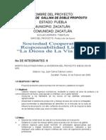 PROYECTO GALLINAS Y HUEVO