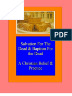 Baptism & Salvation for the Dead