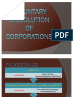 Voluntary Dissolution of Corporations