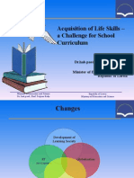 """Acquisition of Life Skills – a Challenge for School Curriculum"""