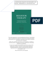 Kashdan & Savostyanova (2011) Capturing the Biases of Socially Anxious People by Addressing Partner Effects and Situational Parameters Behavior Therapy