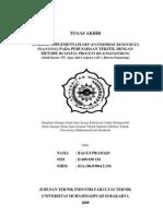 Analisis Implementasi Erp (Enterprise Resources