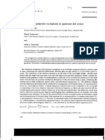 Pawel Hawrylak et al- Nonlinear polariton excitations in quantum dot arrays