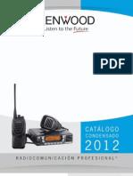 Catálogo de Radios Kenwood 2012