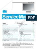 Lenovo L193 Wide 19'' LCD Monitor Service Manual