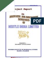 Marketing & Advertising Strategy of Nestle India Limited