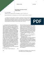 J.A. Tuszynski- The Landau Model of Spontaneous Metamagnetism Involving Inequivalent Sublattices