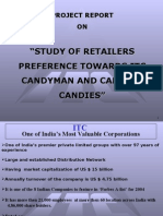 study of retailers preference towards itc candyman and candico candies