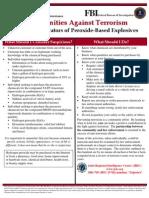 Peroxide Explosives