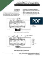 Intersil--An023--Low Cost Digital Panel Meter Designs