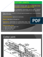 4 Cotter Joint