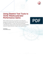 TechFocus - Using Stateful Test Tools to Verify Web Accelerator Performance Gains