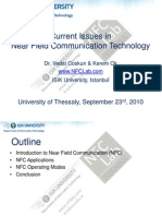 Current Issues in Near Field Communication Technology
