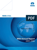 Tata Steel Balance Sheet 2005-06