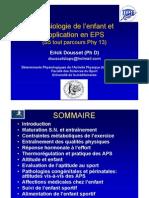 Physiologie de l'enfant et application en EPS