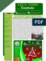 Editoriale dicembre 2011 Lega Nord sezione di Tombolo ed Onara