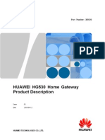 385240HUAWEI HG530 Home Gateway Product Description (1)