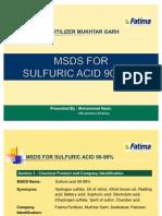 Presentation MSDS Sulfuric Acid