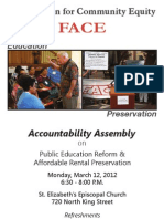 2012 Accountability Assembly