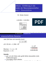 Kompaktkurs 2 - Wissenschaftliches