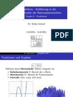 Kompaktkurs 5 - Funktionen