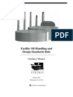 Facility Oil Handling and Design Standards Rule